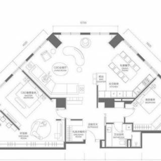 两室两厅户型b