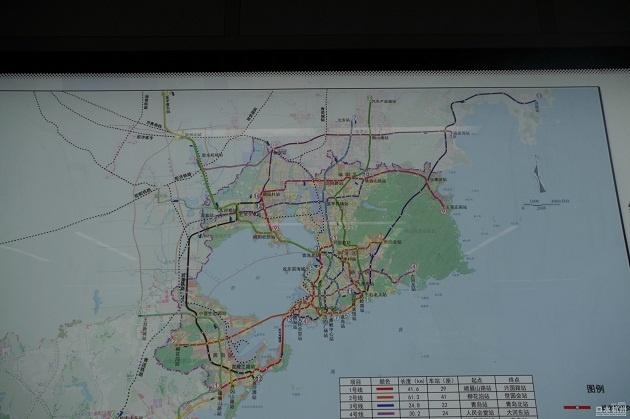 青岛地铁线两侧 各1000米内土地划入了规划圈