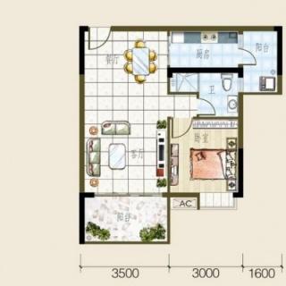 3号房户型图