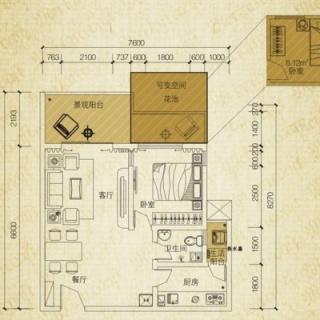 美兰之家A4花园洋房户型图