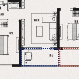 J2三室二厅一卫102平米