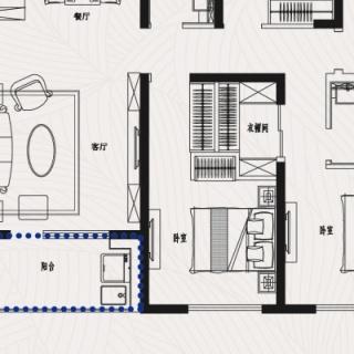 J7四室二厅二卫142平米