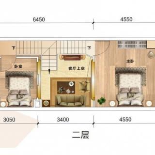 B3栋E品领寓二层