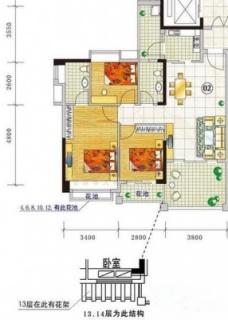 三期城中荟顺景阁A栋2~14层02单位