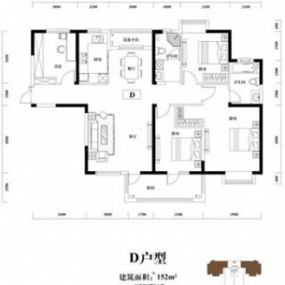 7号楼D户型