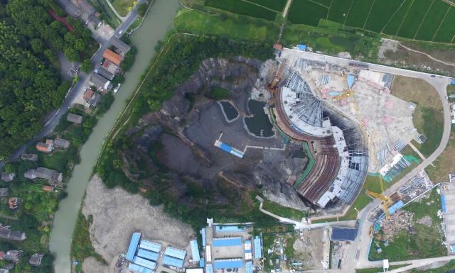 """上海:""""深坑酒店""""地下工程基本完成 - 子泳 - 子泳WZ的博客"""