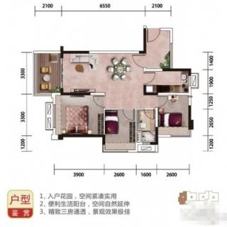 海景洋房Y025A户型图