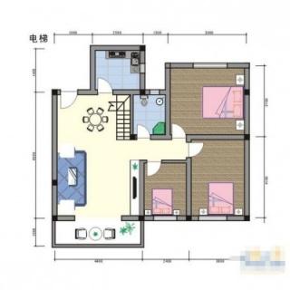 公寓155.35㎡D户型