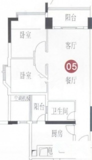 A8栋7-31层05单元户型