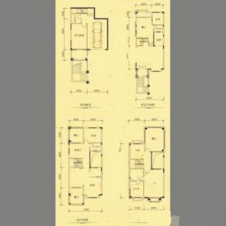 二期坡地别墅L型