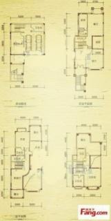 二期坡地别墅F型