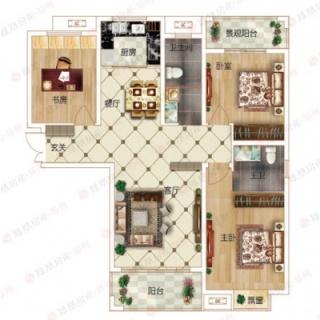 3室2厅2卫C1户型