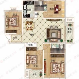 4室2厅2卫D1户型