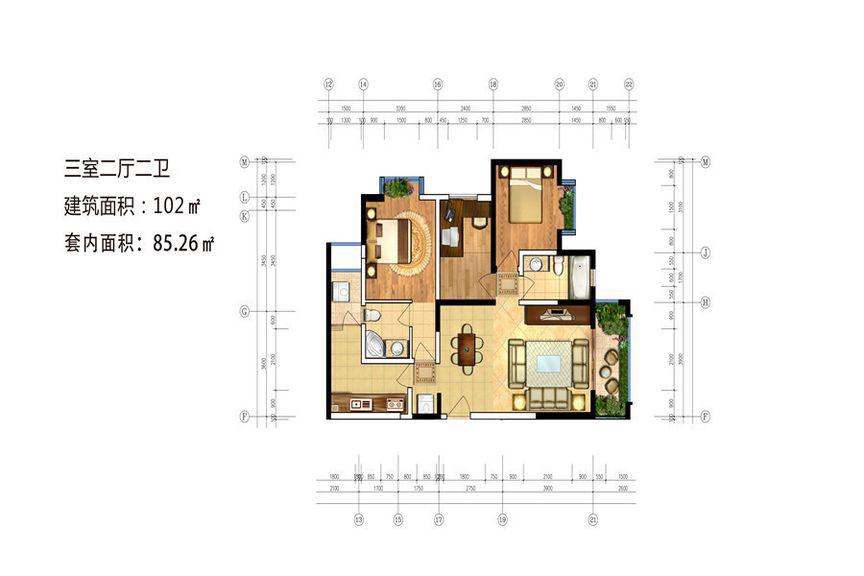 安阳嘉州文庭设计图