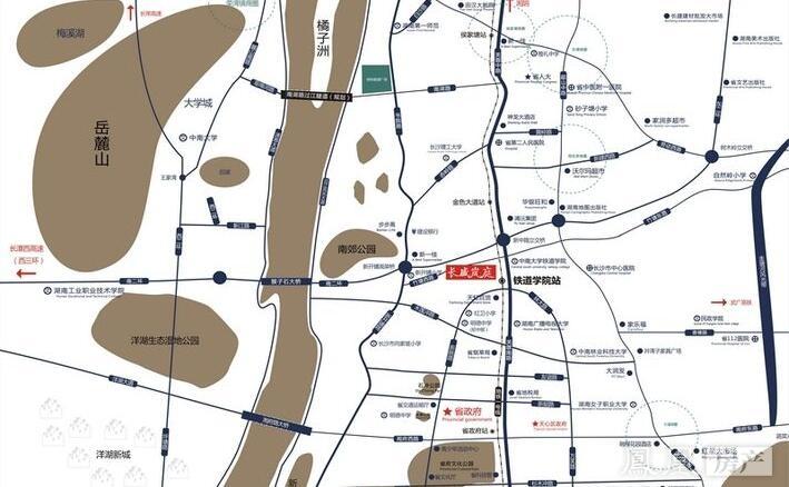 长盛岚庭规划图2