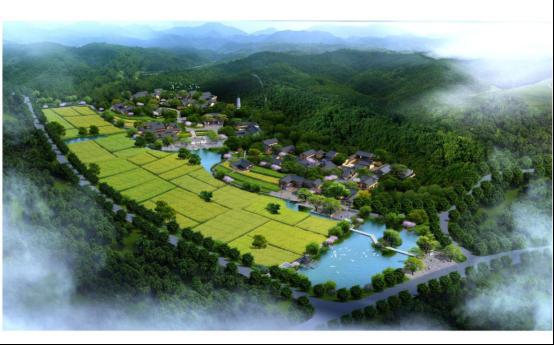 全国休闲农业旅游景区 落定莫干溪谷