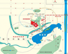 惠天然梅岭国际规划图2