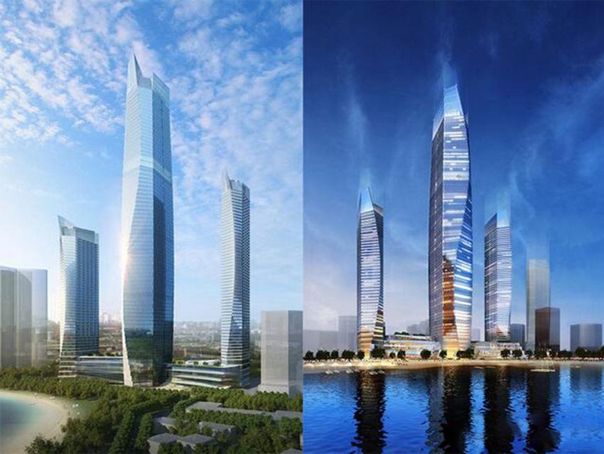 """""""青岛第一高楼""""年底""""破土"""" 2020年投入使用"""