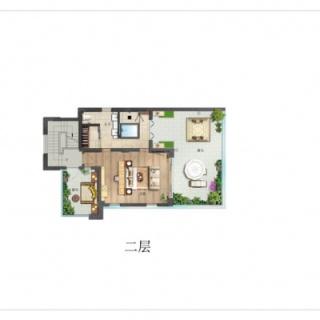 别墅E户型二层