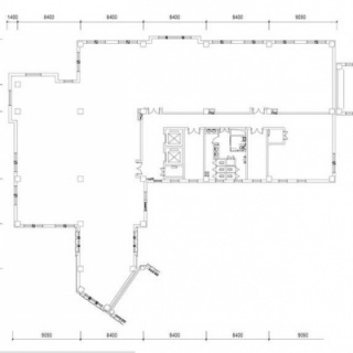1号楼平面图