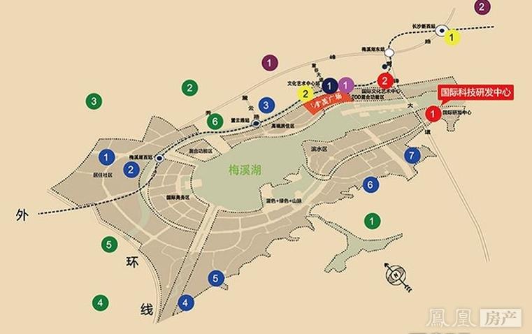 金茂广场规划图2