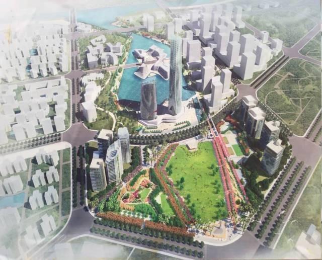 ▲航空新城规划效果图-动作不断 航空新城中南加华2.7万㎡商业 将动工