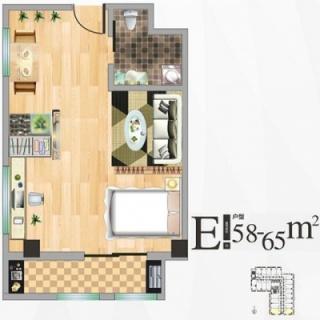 公寓楼E户型