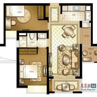 230平4+1房户型