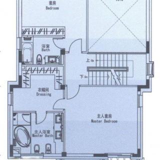 b户型二层