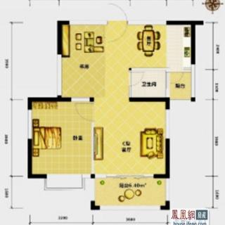高层公寓2-18层C户型