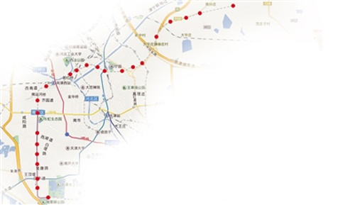 天津地铁6号线今贯通运营 一期工程开通车站24座