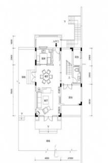 联排别墅A1户型约188平