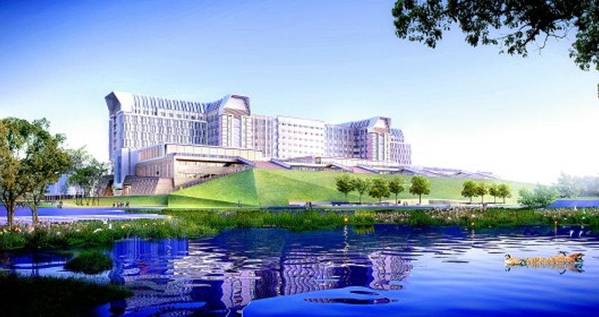 上海东方医院病房楼主体完工、胶州市妇女儿童医院开建今年,胶州市卫生计生局将继续优化医疗资源配置,推进重点医疗机构建设,让群众享受到更多看得见、摸得着的实惠。 上海市东方医院(同济大学附属东方医院)始建于1920年,是一所集医疗、教学、科研、急救、预防、康复、保健于一体的大型三级甲等综合性医院。2016年中国医院科技影响力排名第61位,其中14个学科进入全国百强。 胶州市卫计局副局长刘汝芳介绍说,为能尽早缓解患者看病难、看病贵的问题,让胶州市民早日享受到高水平的医疗服务,今年,胶州市将扎实推进上海市东方