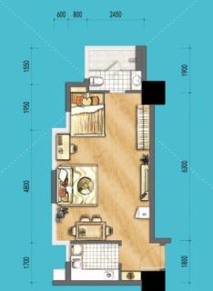 SOHO公寓A户型
