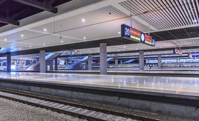 火车站始发 是菜园坝火车站还是新的北站高清图片