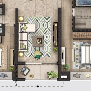T2-03-151㎡三房两厅两卫