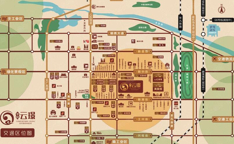 天津华明镇地图全图