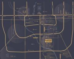 北京金茂府规划图2