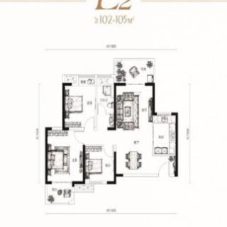 28、29号楼L2户型