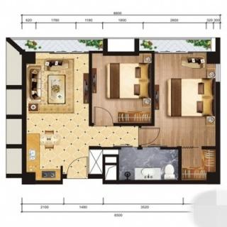 公寓F户型