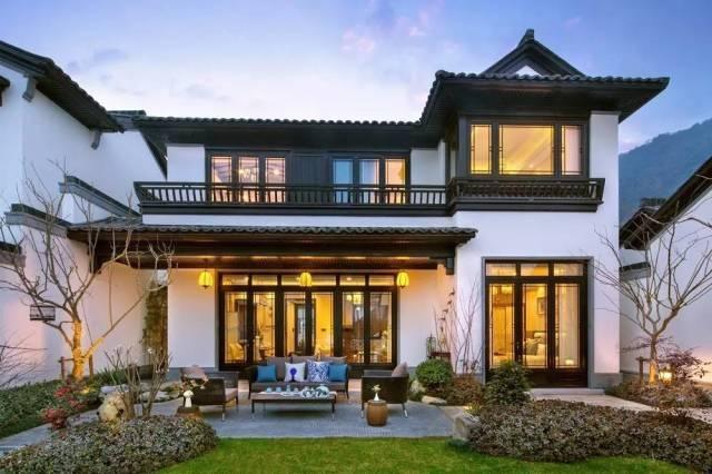 中式木结构屋顶