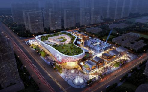 长沙新城吾悦广场奠基 星沙崛起一站式生态体验商业综合体