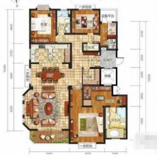 4室户型图