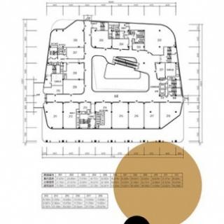 商铺二楼户型图