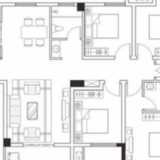 4号楼建面137平户型