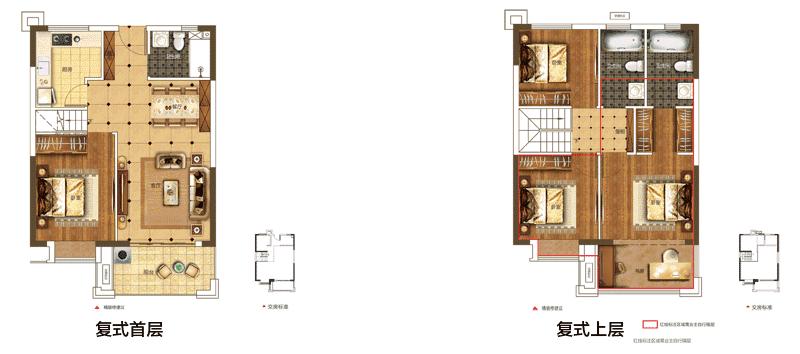 9米x12套间设计图