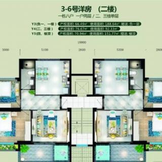 3-6号楼Y4户型