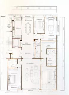 307平米4居户型