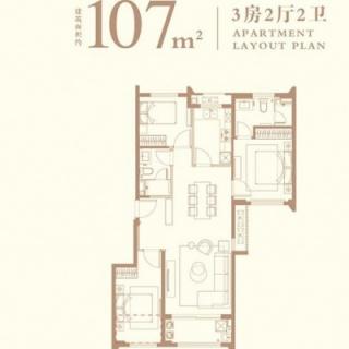 107平户型图