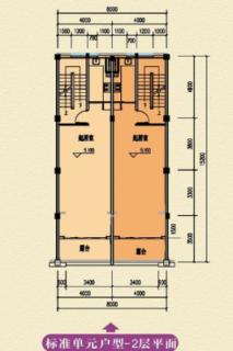 A户型二层